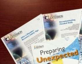 There are many disaster preparation and recovery materials