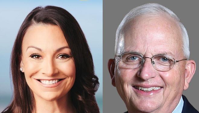 Nikki Fried and Gary Black