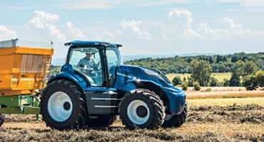 New Holland Concept Methane Powered Tractor