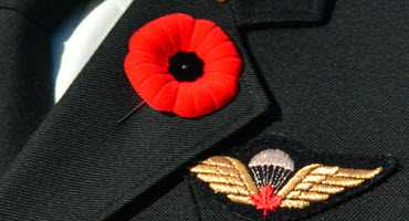 Farmers thank veterans ahead of Remembrance Day