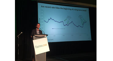 Agricultural innovation is key in the current economic climate, said J.P. Gervais