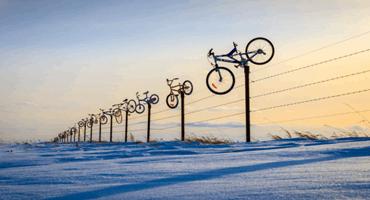 Saskatchewan rancher adds bicycles to already unique farm landscape