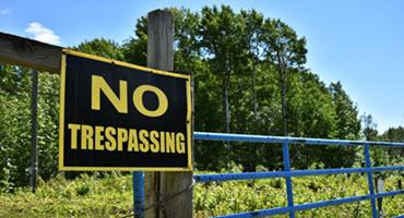 Cracking down on farm trespassers