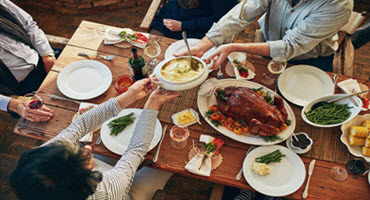 Giving thanks ahead of Thanksgiving