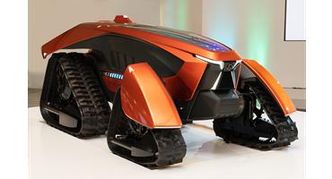 Kubota unveils its concept 'X tractor - cross tractor'