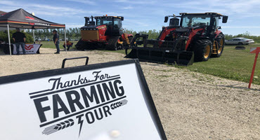 Red Deer Trade Show latest stop for Thanks For Farming Tour