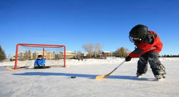 Prairie ag community show off outdoor rinks