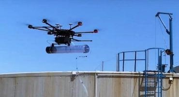 Drone Improves Odor Management in Water Treatment Plants