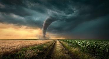 Tornado damages Iowa farms