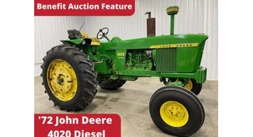 John Deere tractor auction raises money for Mayo Clinic