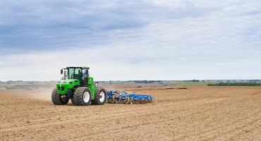 Cleaner tractor technology developed by AUGA
