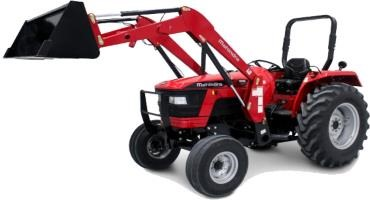 Mahindra offers two NA-specific tractors