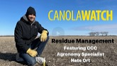 Canola Watch: Residue Management
