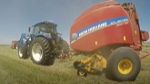 Ready to Roll: New Holland Roll-Belt™ 560 Round Balers