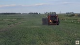 Balin ditch hay with the 5020!