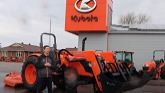 Kubota 7060 Open Station 12 Speed Tractor Package!