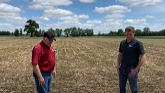 Graham McLean talks about the 2021 soybean crop