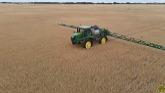 Pre Harvest Spraying; John Deere R4045