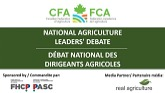 2021 National Agriculture Leaders