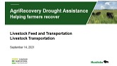 A Review of the AgriRecovery, Drough...
