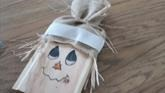 FALL HOME DECOR Using Items You Already Have! SCARECROWS, SOLAR LIGHT PUMPKINS, SCRAP WOOD