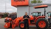 Customer Kubota MX6000 Tractor and Wallenstein FX85 Skidding Winch!