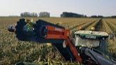 Spapperi Harvester Aid Conveyor in Sweet Corn