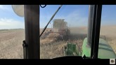 Harvest 2021 is in the bins!! And an airplane tried to dive bomb us!