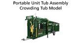 600 Series Portable Crowding Tub Ass...