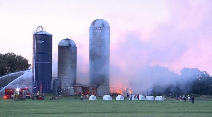 Ryandale Farm fire