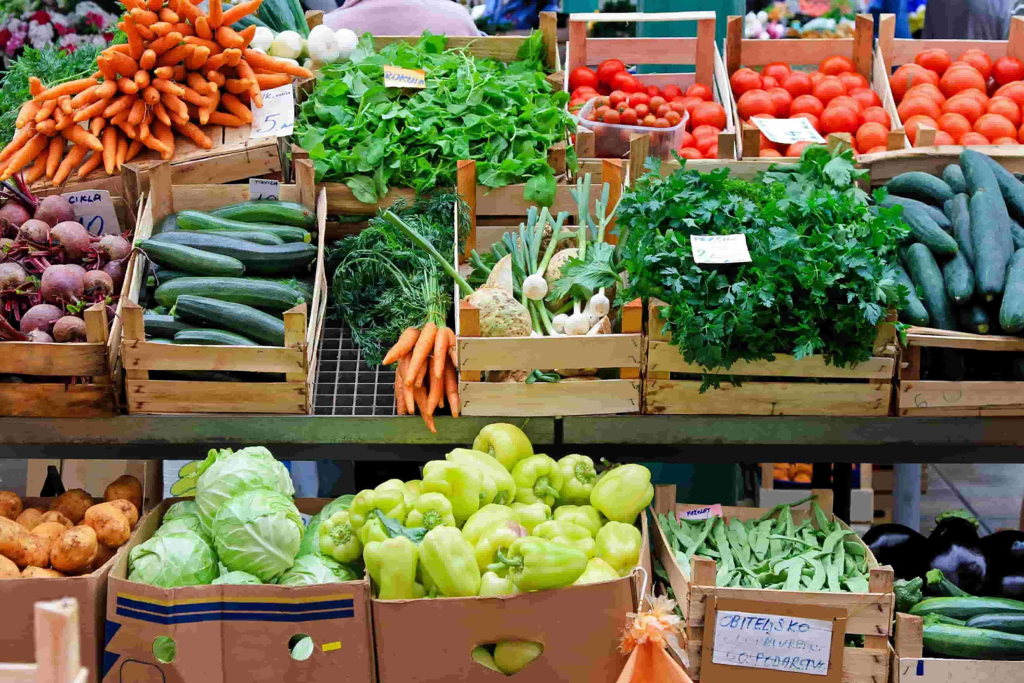 Canada and USA Farmers Market