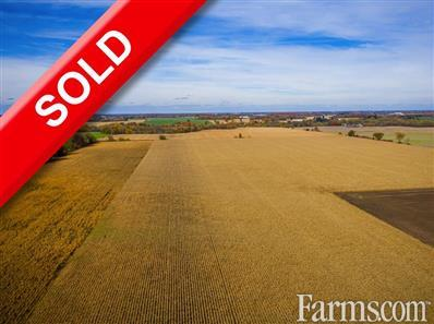 102 Acre Cash Crop - Oxford County for Sale, Norwich, Ontario