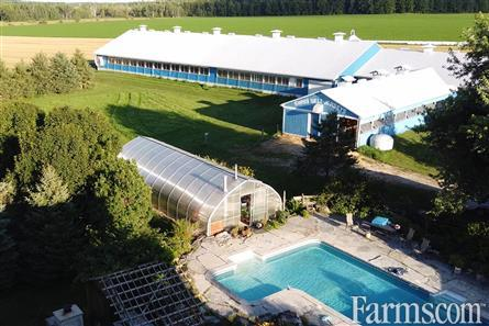 300 Acre Ongoing Dairy Operation - Dufferin County for Sale, Grand Valley, Ontario