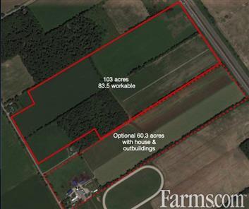 103 acre Farm- Midhurst, Ont. for Sale, Midhurst, Ontario