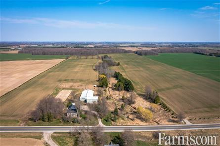 100 ACRES STONE HOME, ARENA & 80 WORKABLE! for Sale, ST MARYS, Ontario
