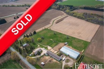 60 Acres NW of Woodstock City Limit for Sale, Woodstock, Ontario