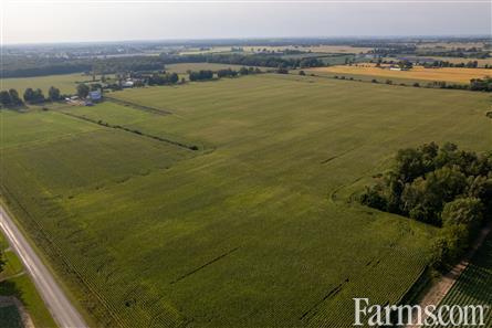 121 Acre Land Opportunity - Oxford County for Sale, Tillsonburg, Ontario