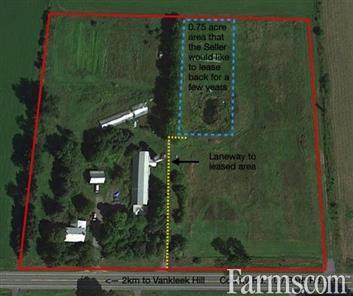 8.46 acre Organic Hobby farm for Sale, Vankleek Hill, Ontario
