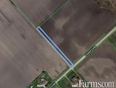 SOLD - 39 acres Bare Land Chatham/Kent for Sale, Chatham, Ontario