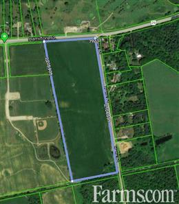 SOLD - 37 acres of bare land for Sale, Dorchester, Ontario