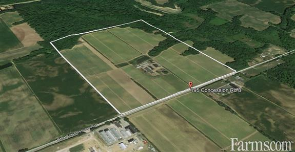 SOLD - 106 acres Norfolk County for Sale, Langton, Ontario