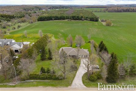 91.89 Acre Farm with Bungalow for Sale, Mono, Ontario