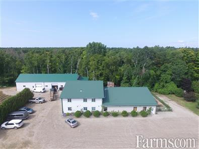 84 acre berry farm and fruit distillery for Sale, Bayfield, Ontario