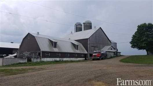 SOLD - Excellent Organic Dairy Farm for Sale, Mount Forest, Ontario