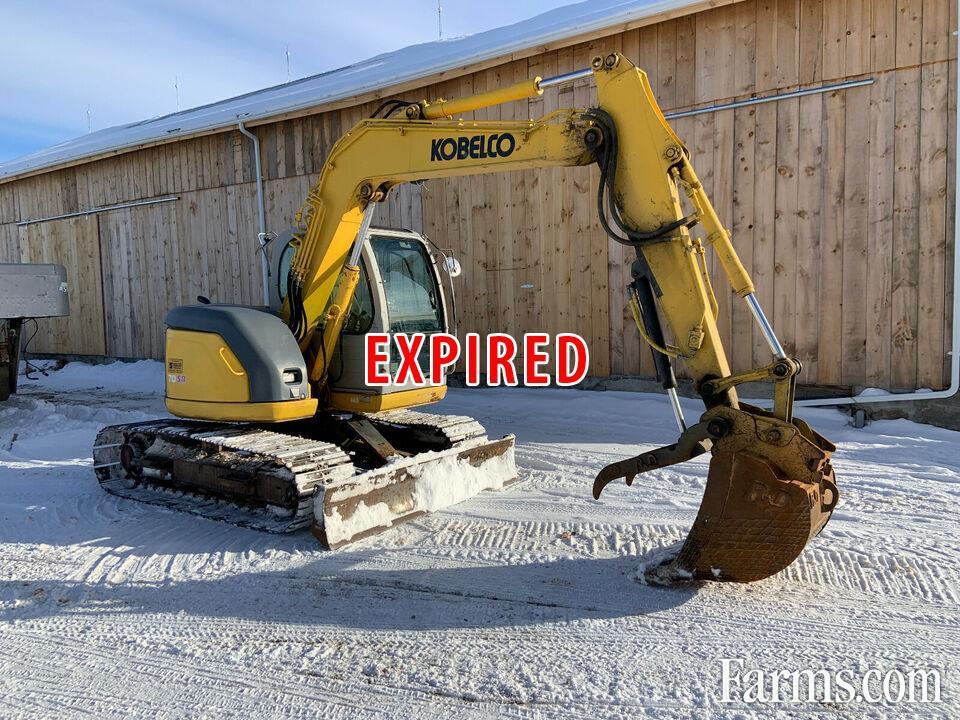 Kobelco 8 Ton Excavator