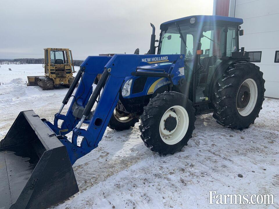 New Holland T4030 Loader tractor