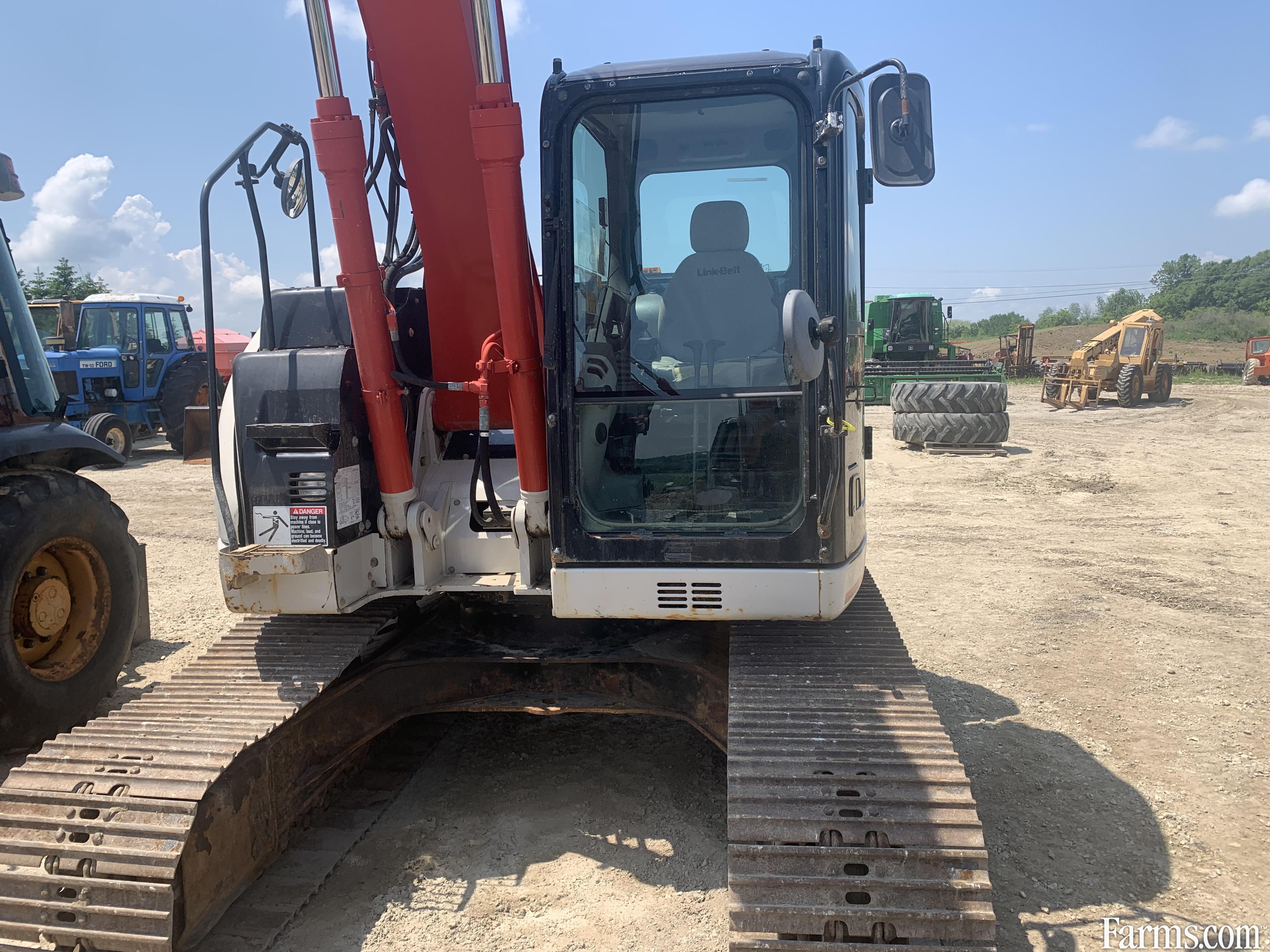 Link-Belt 145X3 Excavator. Spin Ace.