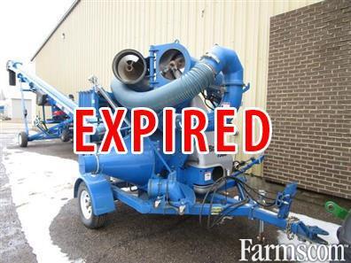 Brandt 2012 7500HP Grain Vacuums