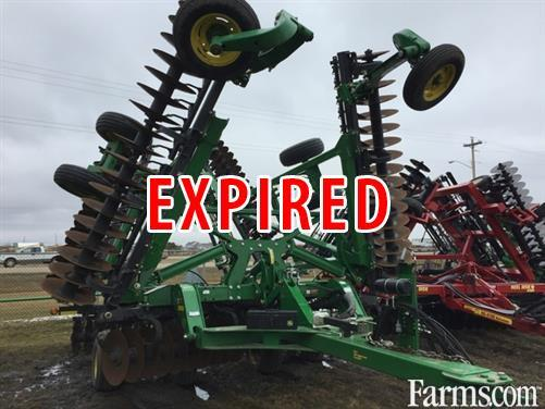 John Deere 2014 2623 Vertical Tillage