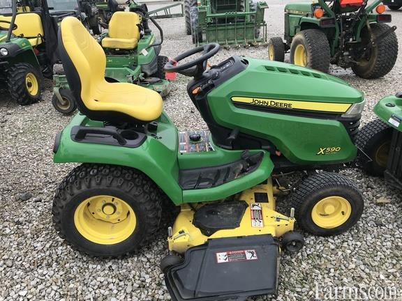 John Deere 2015 X590 Riding Lawn Mowers For Sale